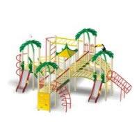 Спортивно-игровой комплекс «Тропический остров»