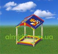 Песочница с крышей «Хитрый лис»