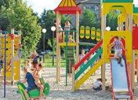 Дитячі майданчики у Тернопілі